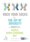 Rock your socks poster a4 kopiera