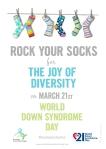 Rock your socks poster a4 kopiera