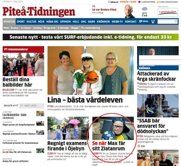 piteå tidningen