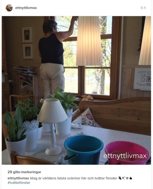 tvätta fönsert